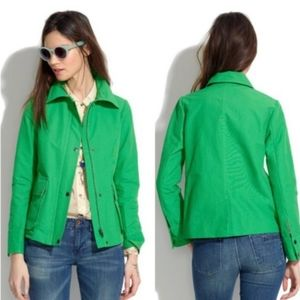 Madewell Kelly Green Cloud Cover Jacket Size S